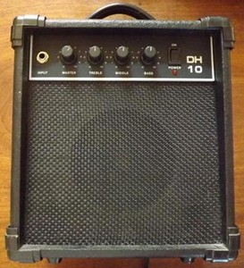Amplificateur ROC 10 watts DH 10 noir