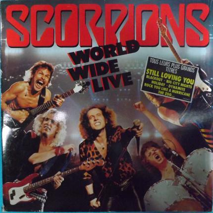 Scorpions world wide live 1985